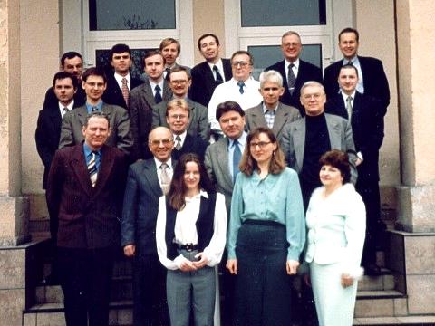 Pracownicy KTiAE w 1999 roku.