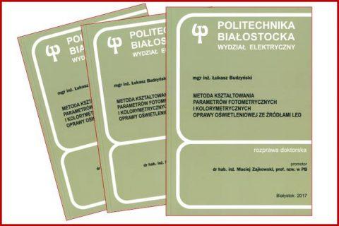 Publiczna obrona pracy doktorskiej L. Budzyński