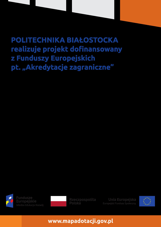 Plakat - Akredytacja kierunku Elektrotechnika, studia II stopnia