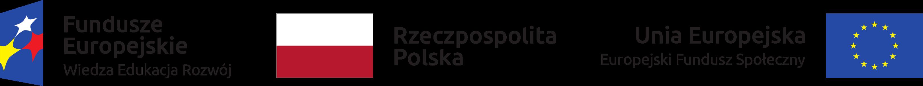 Fundusze Europejskie - Wiedza Edukacja Rozwój : Rzeczpospolita Polska : Unia Europejska - Europejski Fundusz Społeczny
