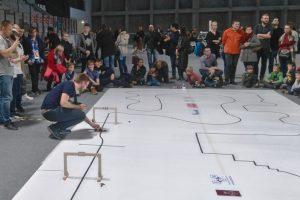 Zawody Robot Sumo Challange 2017: konkurencja Line Follower Turbo