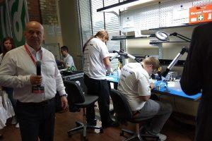 Renex Soldering Championship Poland 2018: praca na stanowisku