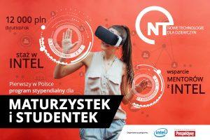 Program stypendialny: Nowe technologie dla dziewczyn
