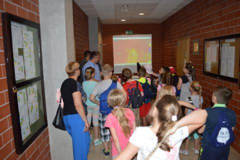 Wycieczka edukacyjna uczniów ze Szkoły Podstawowej nr 7 w Białymstoku