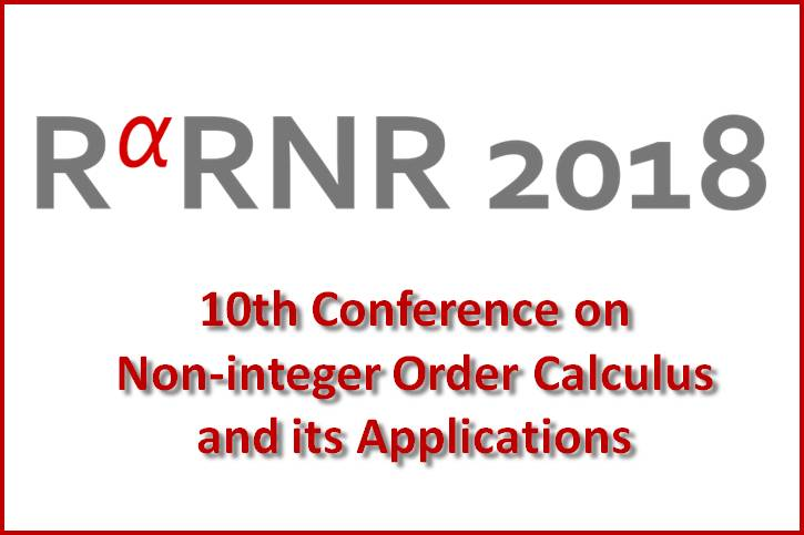 INTERNATIONAL CONFERENCE ON NON-INTEGER ORDER CALCULUS AND ITS APPLICATIONS