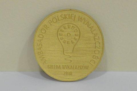 Medal Ambasador Polskiej Wynalazczości 2018