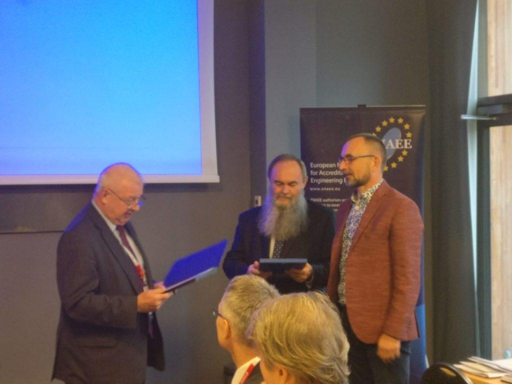 Uroczystość wręczenia certyfikatów KAUT i EUR-ACE dla kierunków studiów prowadzonych na Wydziale Elektrycznym (26.10.2018 r.)