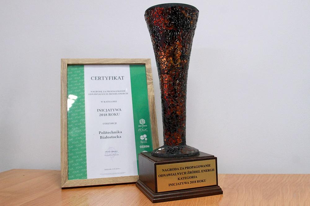 Nagroda PB za propagowanie odnawialnych źródeł energii