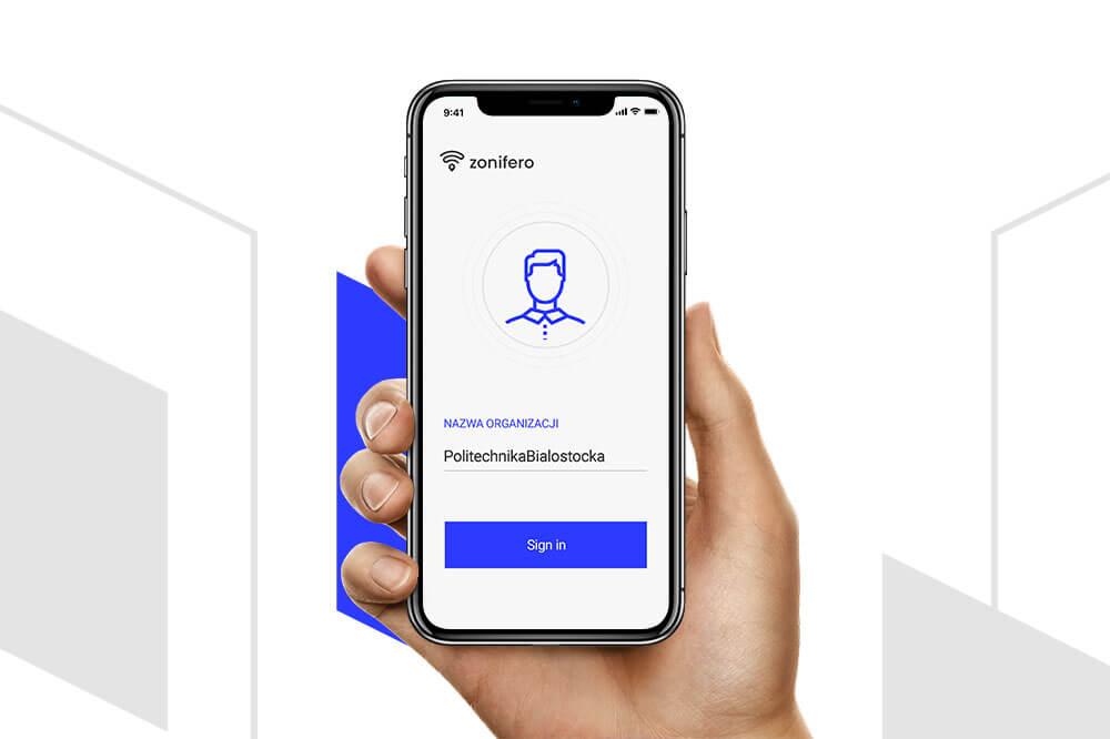 Aplikacja Zonifero na Politechnice Białostockiej