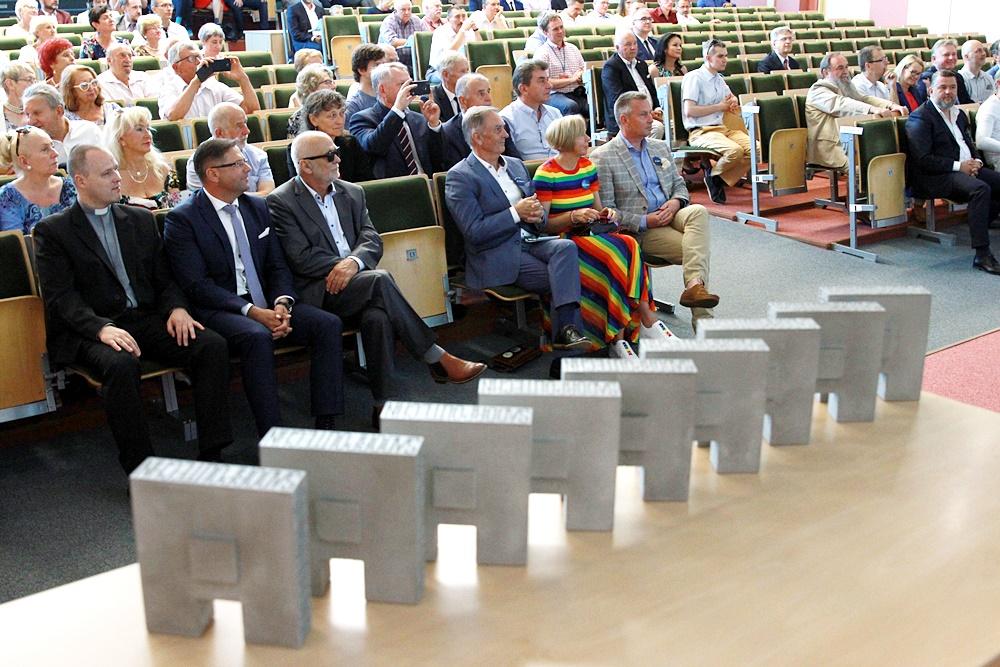 Uroczystość wręczenia tytułu Honorowego Ambasadora Politechniki Białostockiej