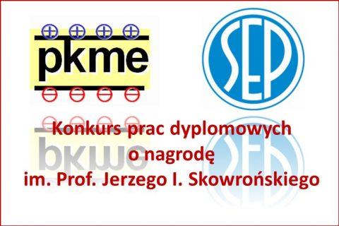 Konkurs im. prof. J. Skowrońskiego