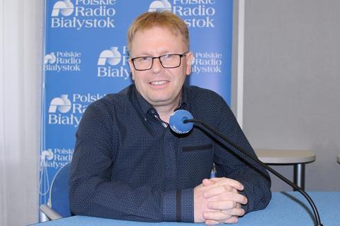 dr Maciej Sadowski w Radiu Białystok