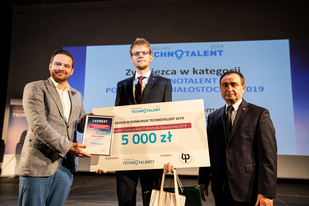 Technotalenty, gala finałowa konkursu. 10 grudnia 2019 r., fot. M. Heller