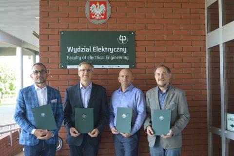 Władze Wydziału Elektrycznego w kadencji 2020-2024