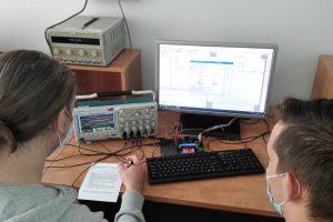 Laboratorium techniki mikroprocesorowej.