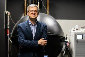 Dziekan Wydziału Elektrycznego PB dr hab. inż. Bogusław Butryło, prof. PB, fot. Gabriela Kościuk
