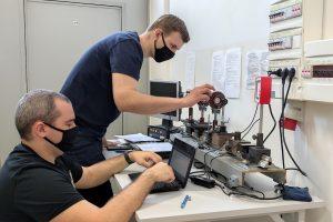 Laboratorium techniki światłowodowej i fotoniki