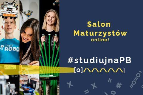 Salon Maturzystów online 23 września 2021. #Studiuj na PB.