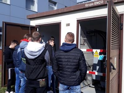 Wizyta uczniów ZSM w Łapach